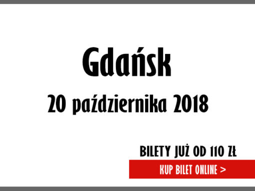 40-lecie Zespołu Pod Budą 20.10.2018 Gdańsk