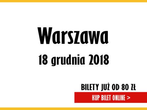 """Piwnica Pod Baranami – Kolędy i Pastorałki """"Dla Miasta i Świata"""" Warszawa"""