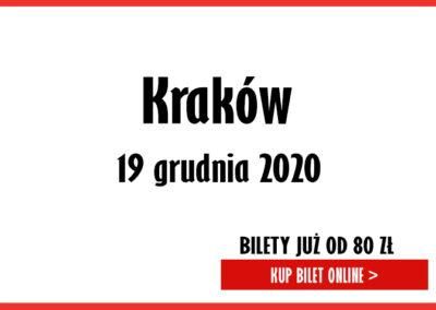 Alosza Awdiejew, ostatnia trasa koncertowa Kraków